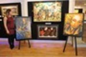 Art of Rolling Stones' Ronnie Wood on show at Cottingham gallery
