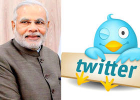 PM Narendra Modi's followers cross 8 million on Twitter